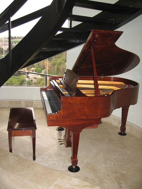 moving grand piano